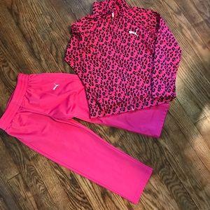 Puma toddler track suit